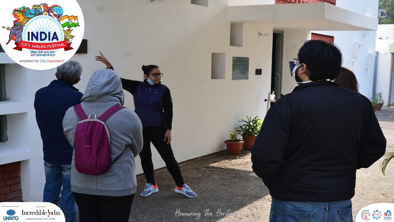 Museum Walk in Chandigarh