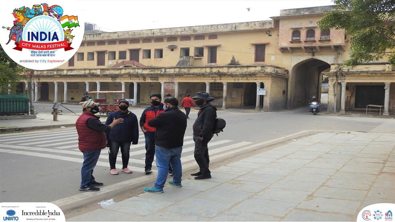 Raj Prasad Walk Jaipur